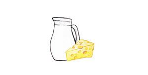 Käse und Molkereiprodukte