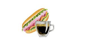 Essen und Trinken, Imbiss
