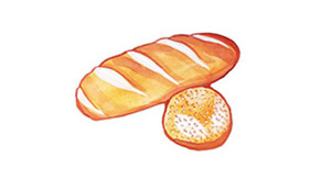 Bäckerei, Backwaren, Brot und Brötchen